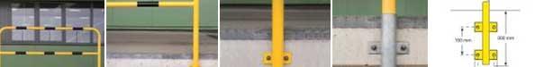 Black Bull Barrier Guards For Ledges
