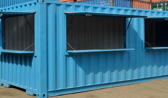 Container food outlet