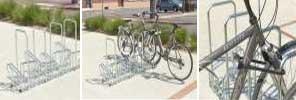 High Security Bike Racks - Double-Sided